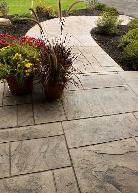 Decorative Stamped Concrete Ma Nh Me Patio Pool Decknh