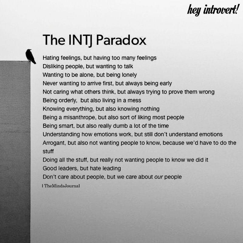 The INTJ Paradox