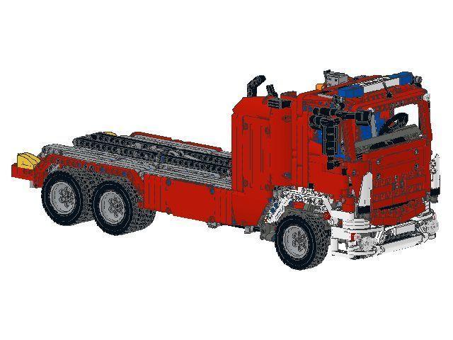 Bauanleitung Instruction 8052 42043 Feuerwehr Eigenbau Unikat Moc