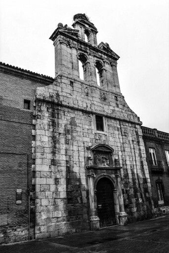 Iglesia derruida Alcalá de Henares