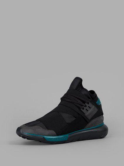 efd56dad3 Y-3 Y-3 Men S Black Qasa High Sneakers.  y-3  shoes  sneakers