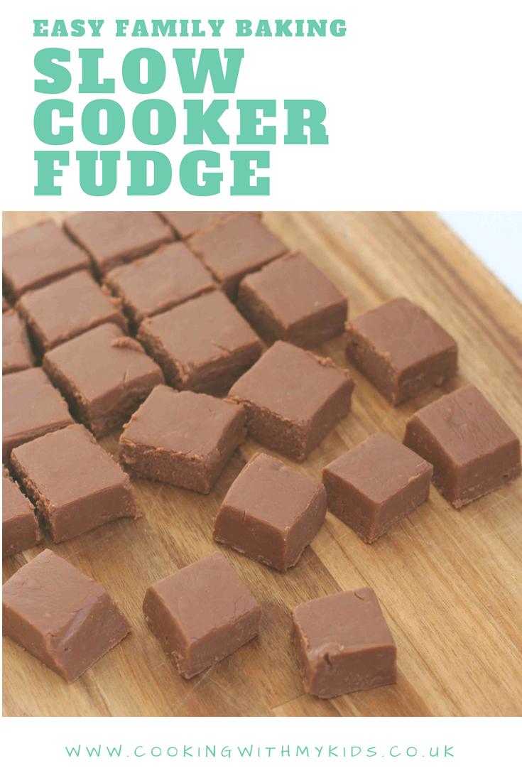 Condensed Milk Fudge Recipe With Images Slow Cooker Fudge Fudge Recipes Easy Slow Cooker Baking