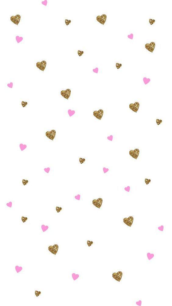 Imagem De Cris Figueiredo Gold Wallpaper Phone Wallpaper Backgrounds Iphone Wallpaper Arrow and heart pinkwhitegold wallpaper