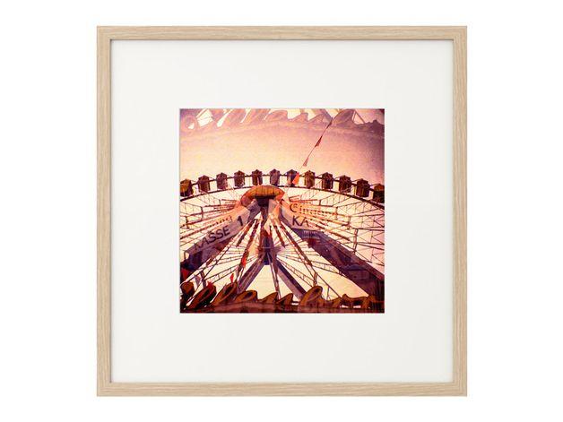 Lomographie Dippemess FFM Riesenrad 2 29 x 29 cm