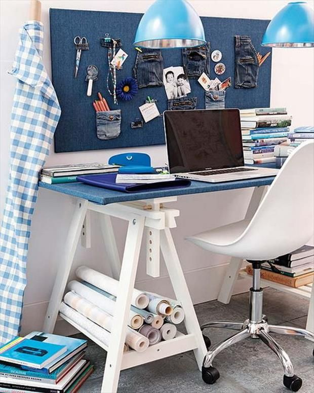 Attractive 4 Creative DIY Projects For Your Home Office   Adjustable Height