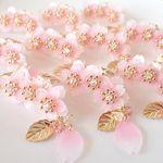 満開桜のゆらゆらネックレス | ハンドメイドマーケット minne