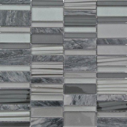 Rapids Pattern Windy City Glass and Stone Tile_MAIN