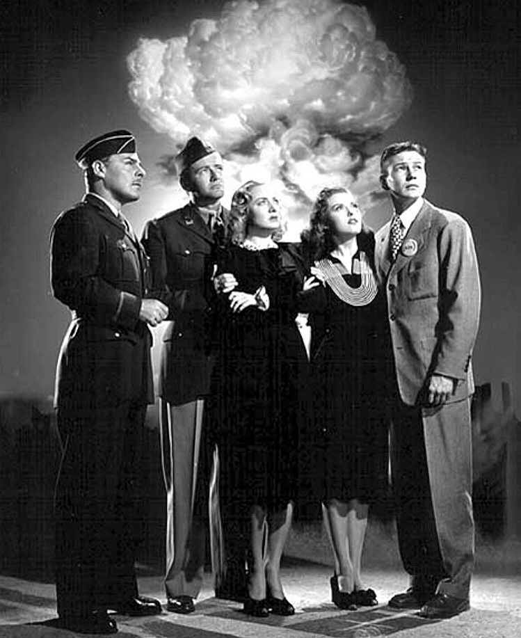 Brian Donlevy Robert Walker Audrey Totter Beverly Tyler Tom Drake The Beginning Or The End 1947 Robert Walker Film Story Old Hollywood