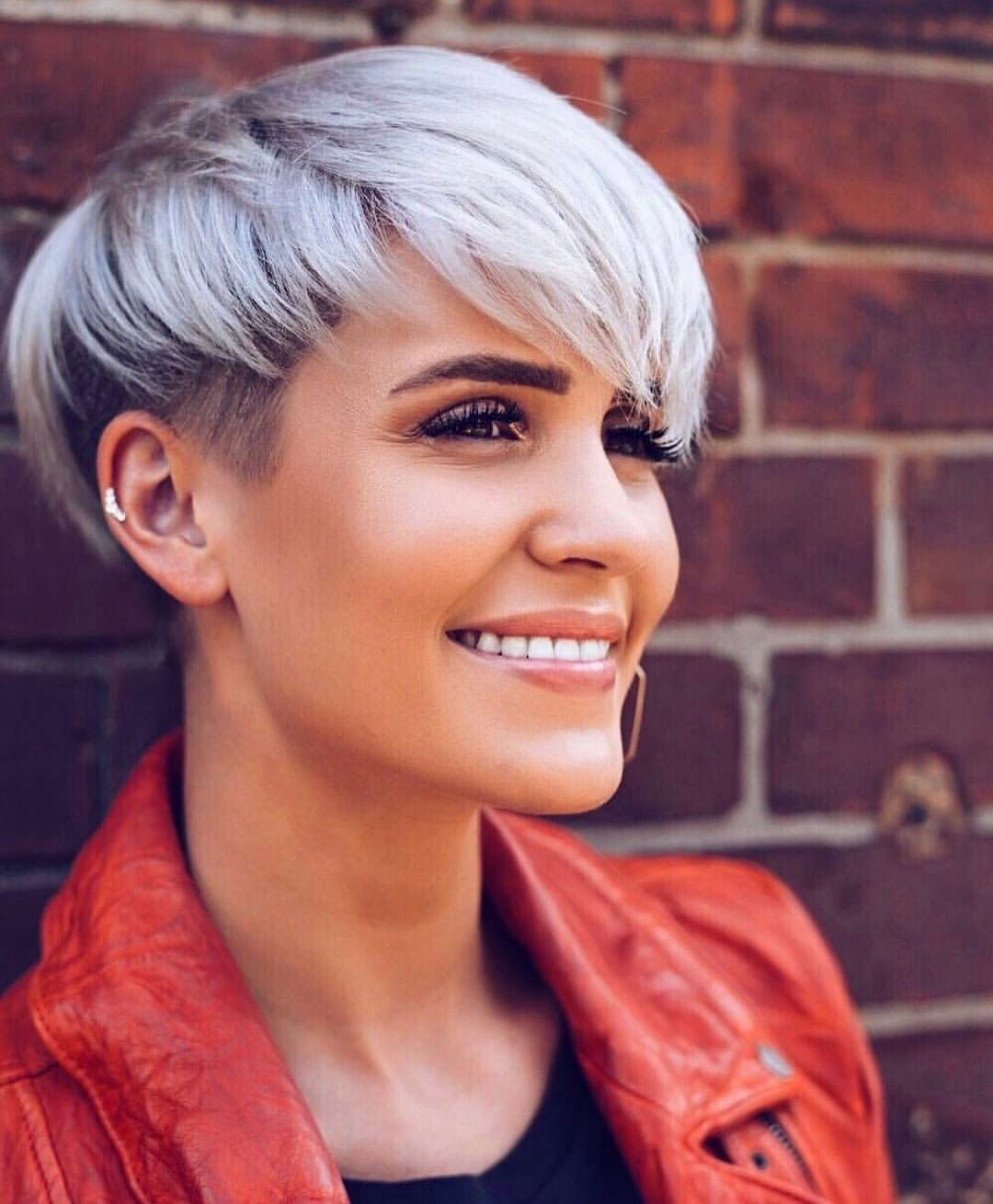 Pin by christina hannah on hair pinterest short hair pixies and