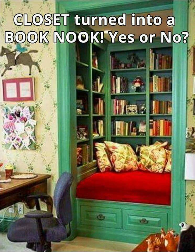 awesome closet turned into a booknook house and garden pinterest