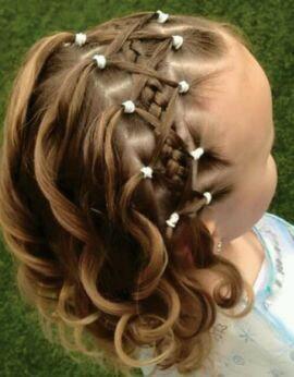 Peinados Para Nina Ideales Para La Escuela Peinados Hair Styles