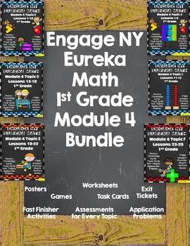 Engage NY {Eureka} Math Module 4 Bundle 1st Grade Engage