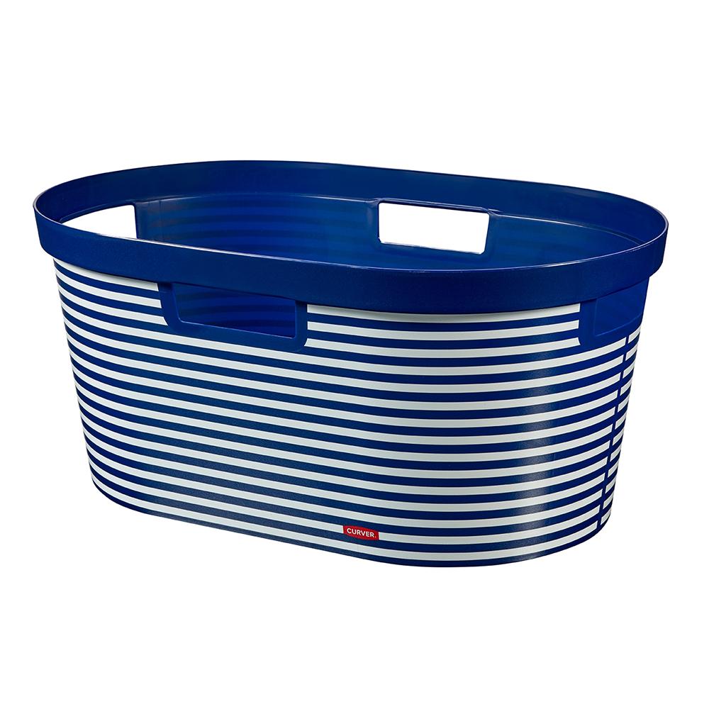 Infinity Laundry Basket Blue Marine Laundry Basket Basket
