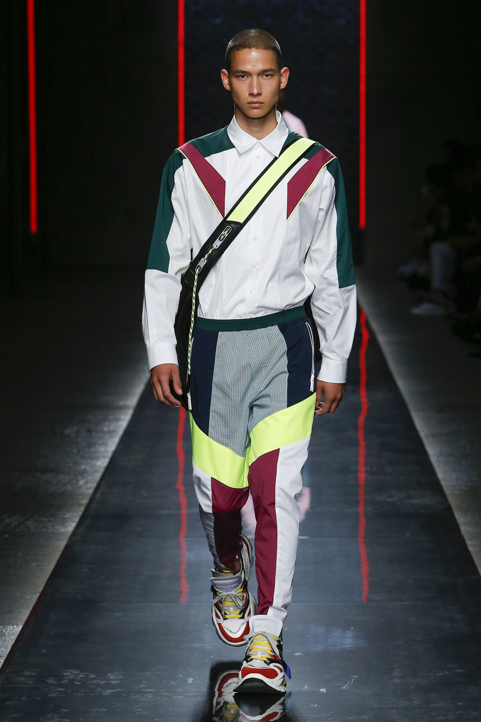 Dsquared2 Spring 2019 Menswear Fashion Show Collection ...