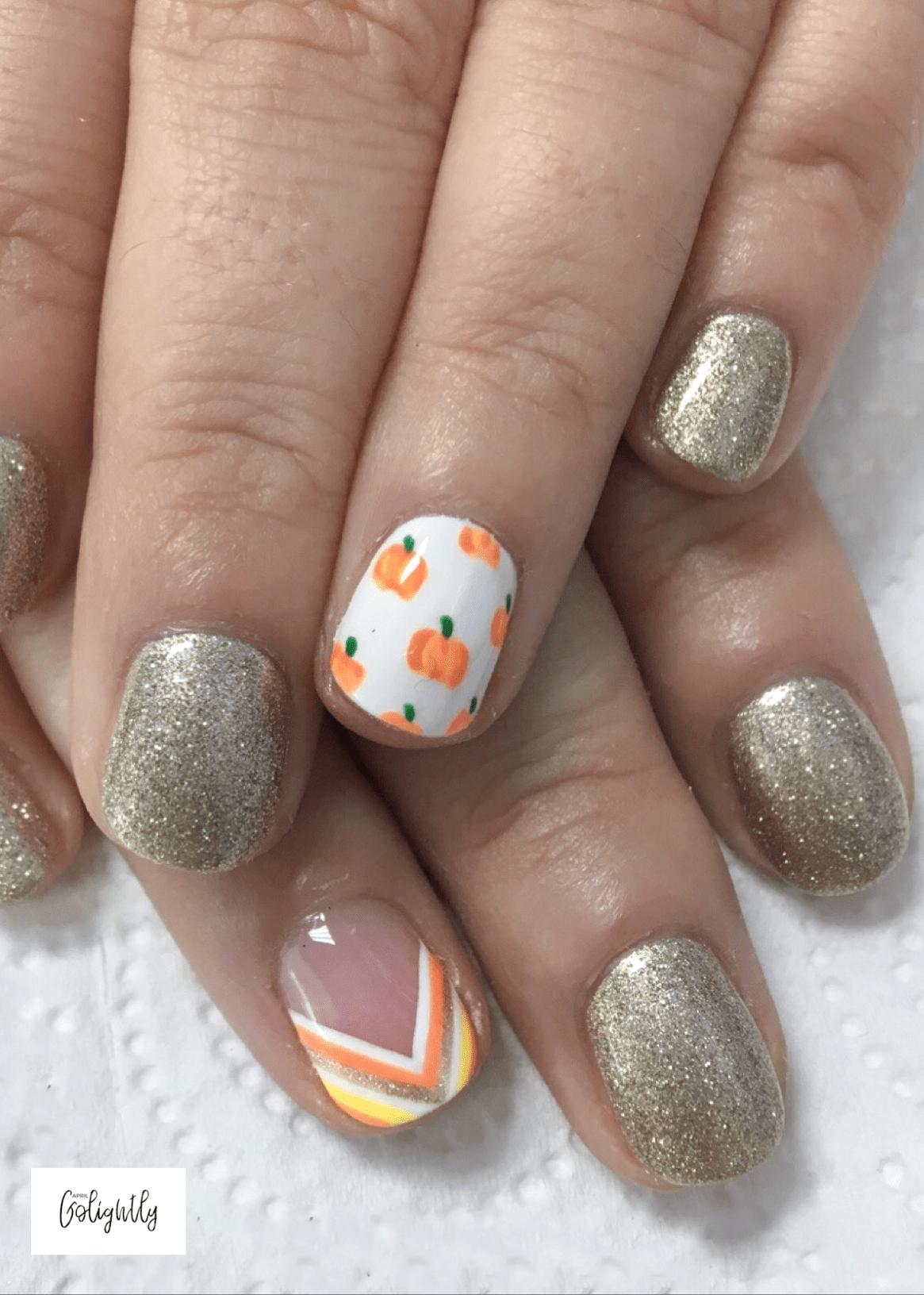 nail polish ideas for thanksgiving nail art designs pinterest