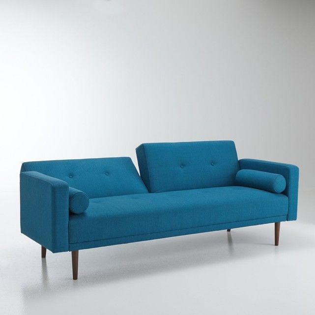 Schlafsofa TUSKE, Dreisitzer Der Sixties-Charme macht sich gut im - gemütliches sofa wohnzimmer