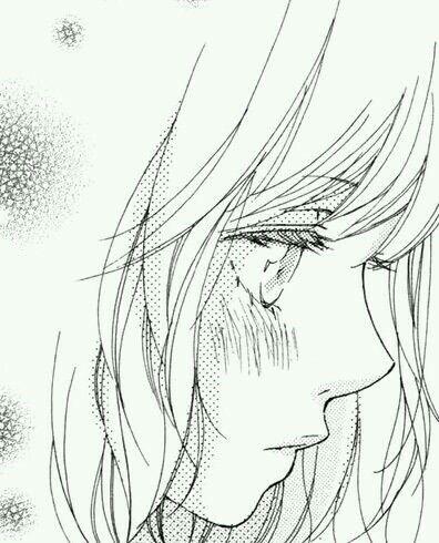 Anime De Perfil Dibujos Tristes A Lapiz Dibujos Tristes Como