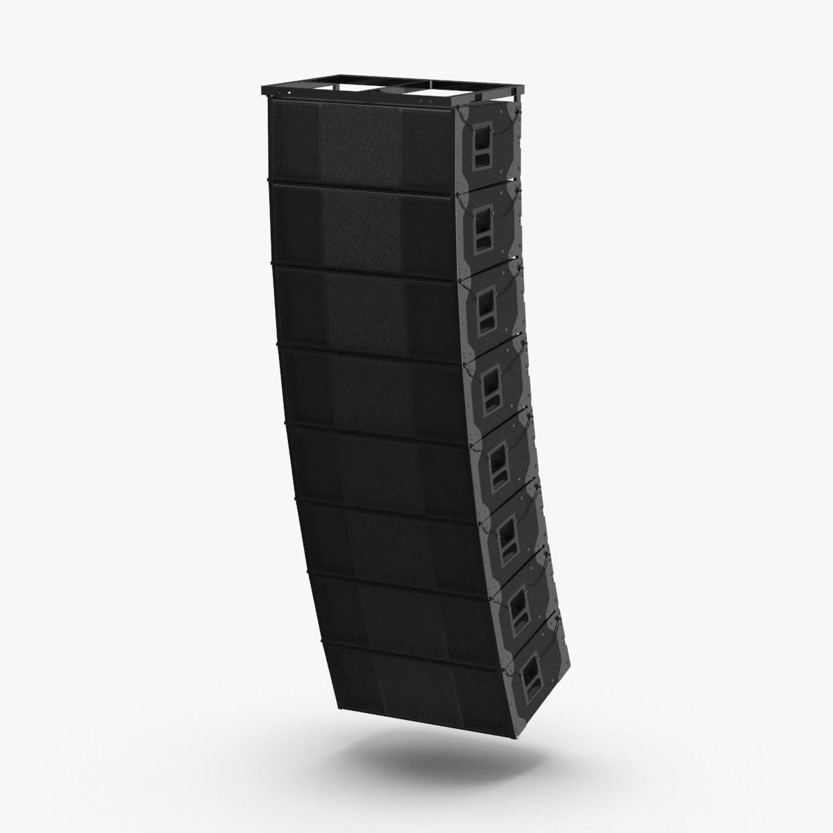 Stage Speaker 03 3d Model Ad Speaker Stage Model Speaker Computer Music 3d Model