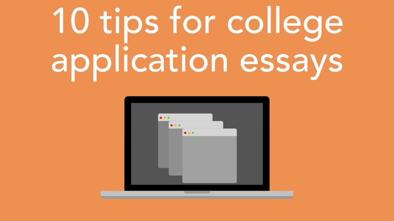 Buy college application essays do'