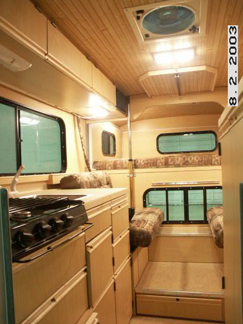 Small Camper Remodel Layout