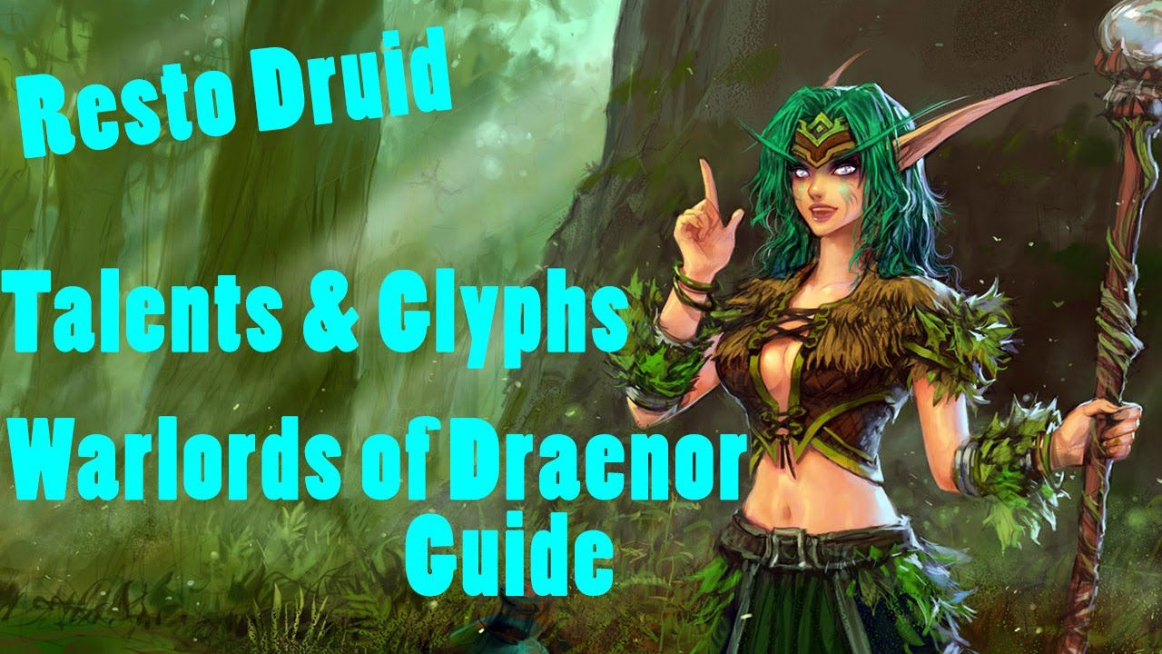 Resto druid pvp talents