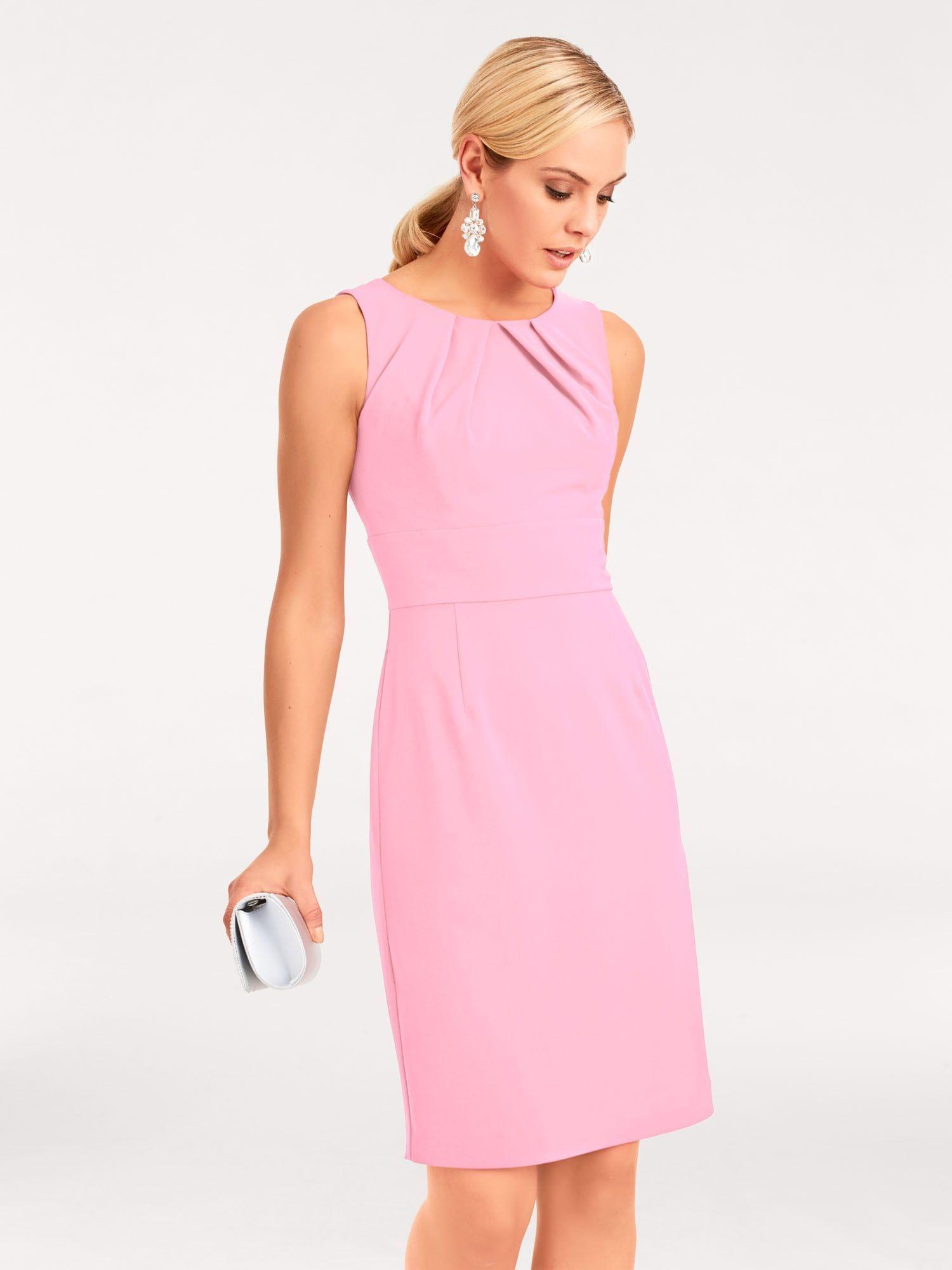 heine Kleid in rosé #weißekleiderkurz  Fashion, Elegant dresses