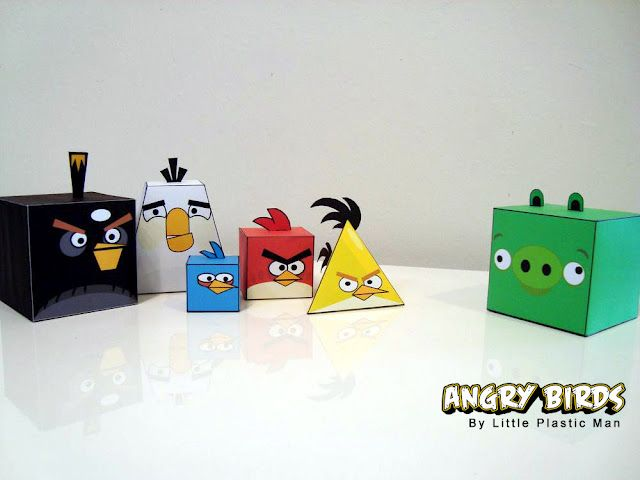 paper made angry birds- free PDF