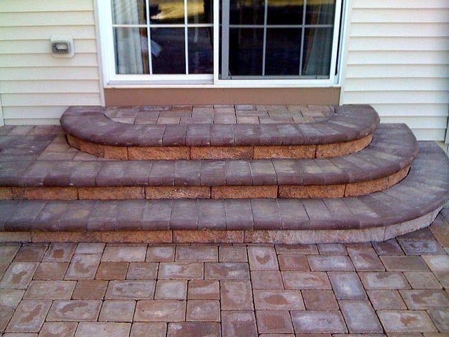Best Patio Bricks Menards Google Search Patio Steps Outdoor Stone Steps Patio Stairs 400 x 300