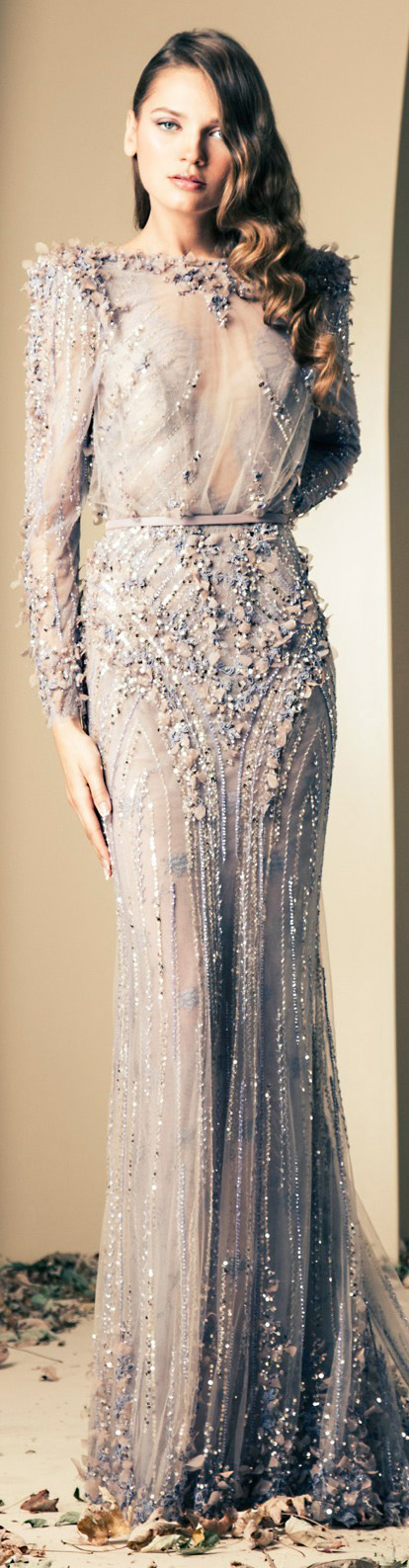 Ziad Nakad Couture | Fall/Winter 2014 #gown #dress