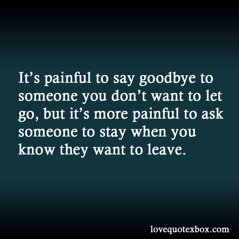 How to say goodbye to a guy you like