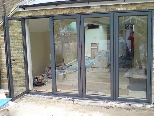 Aluminium External Folding Doors, Folding Sliding Doors, Concertina ...
