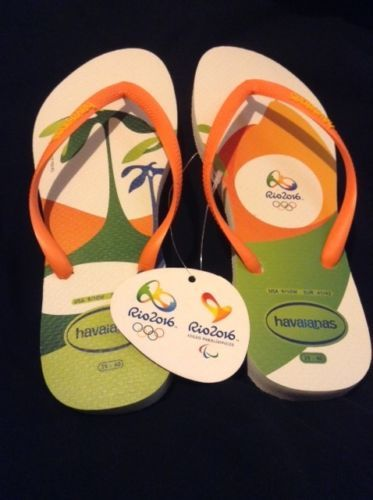 fedd6df8f56e Havaianas-Flip-Flops-Olympic-Games-Rio-2016-9-10W-NEW