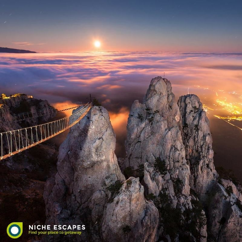 The beauty of Mount Ai-Petri, Crimea, Ukraine. #Ukraine #mountain
