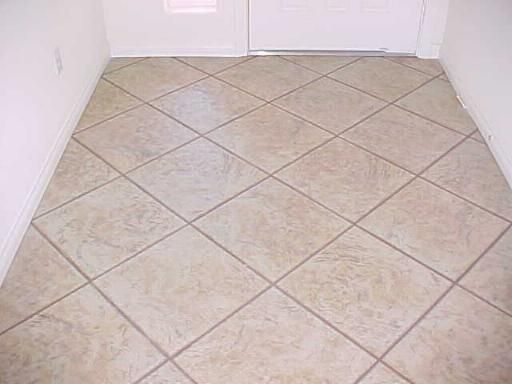 tile floor tile installation