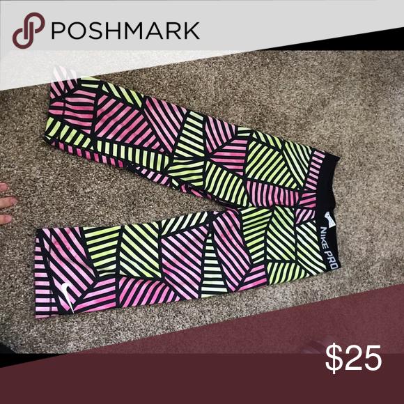 bbff63a753176c Spotted while shopping on Poshmark: Nike Pro Cropped Leggings! #poshmark # fashion #shopping #style #Nike #Pants
