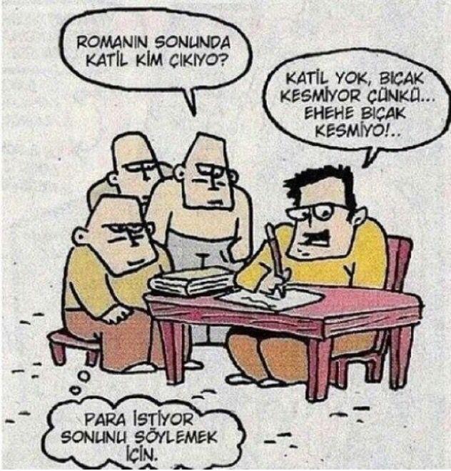 Özer Aydoğan karikatür mizah kitap okumak | Karikatür, Mizah, Komik