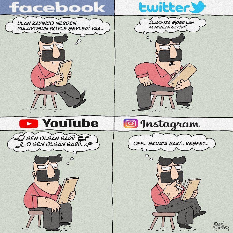 Facebook Ulan Kayinco Nerden Buluyorsun Boyle Seyleri Yaa Twitter Alayimiza Gider Lan Alayiniza Gider Youtube Sen Olsan Bari Mizah Komik Espriler