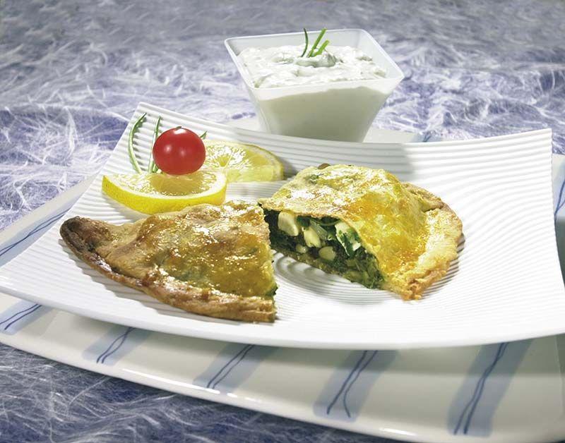 Griekse spinaziepasteitjes
