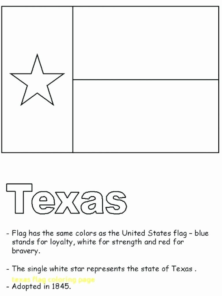 Texas Flag Coloring Sheet Awesome Texas Map Coloring Page