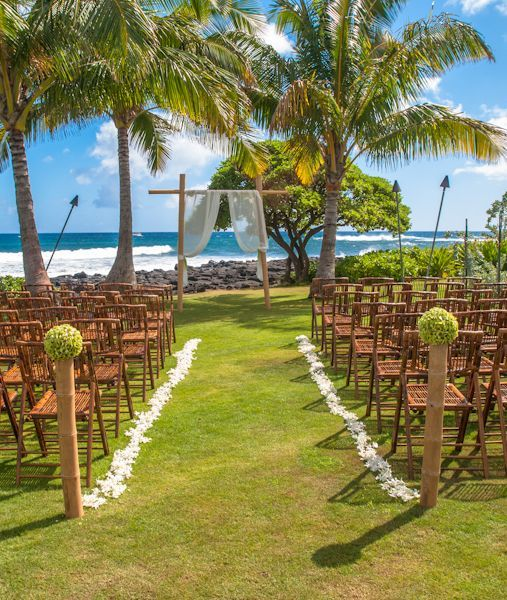 Beautiful Kauai Wedding Hawaii