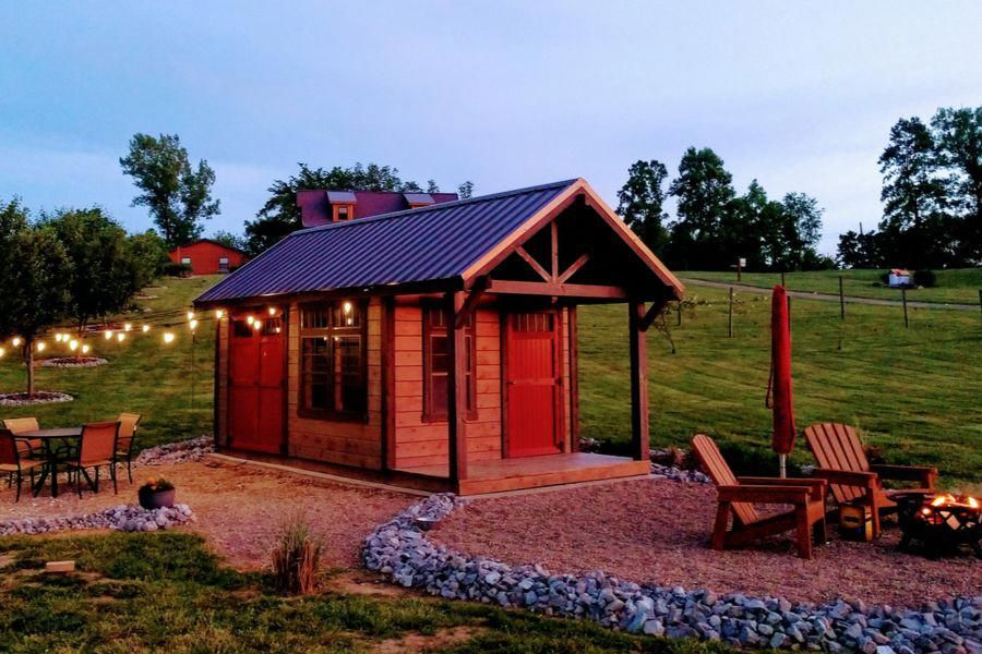 How to install offgrid solar power to a cabin shed or