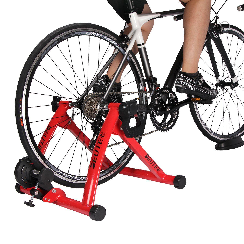 Deuter Indoor Bike Trainer Portable Bicycle Magnetic Resistance