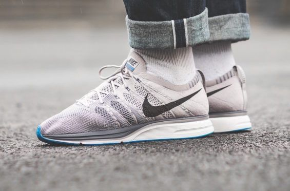 080175fc5c304 ... clearance the nike flyknit trainer atmosphere grey is featured in a lifestyle  look and its dropping