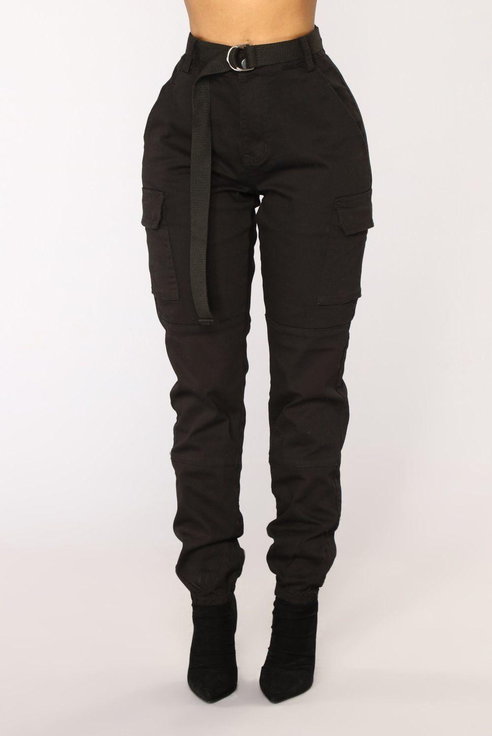 Cadet khloe oversized cargo pants black ss list of blatant