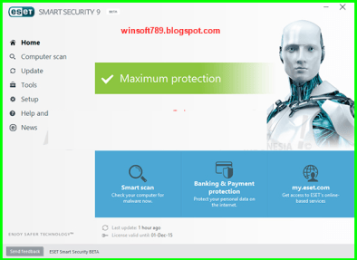 eset smart security 9 key free