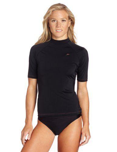 0bbe060c Speedo Women's Hana Solid Rashguard Swim Tee Speedo. $38.00 ...