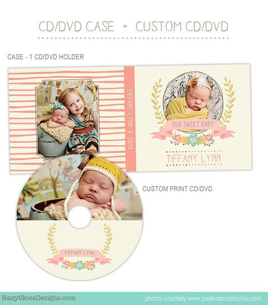CD Label + CD Case