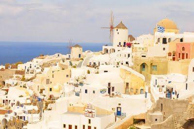 Grecian haven.