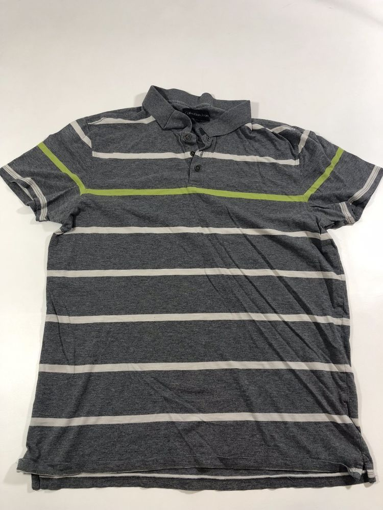 04effbe851b Calvin Klein Jeans Men s Shirt Medium Grey Short Sleeve Polo Used Excellent  Cond  fashion  clothing  shoes  accessories  mensclothing  shirts (ebay link )