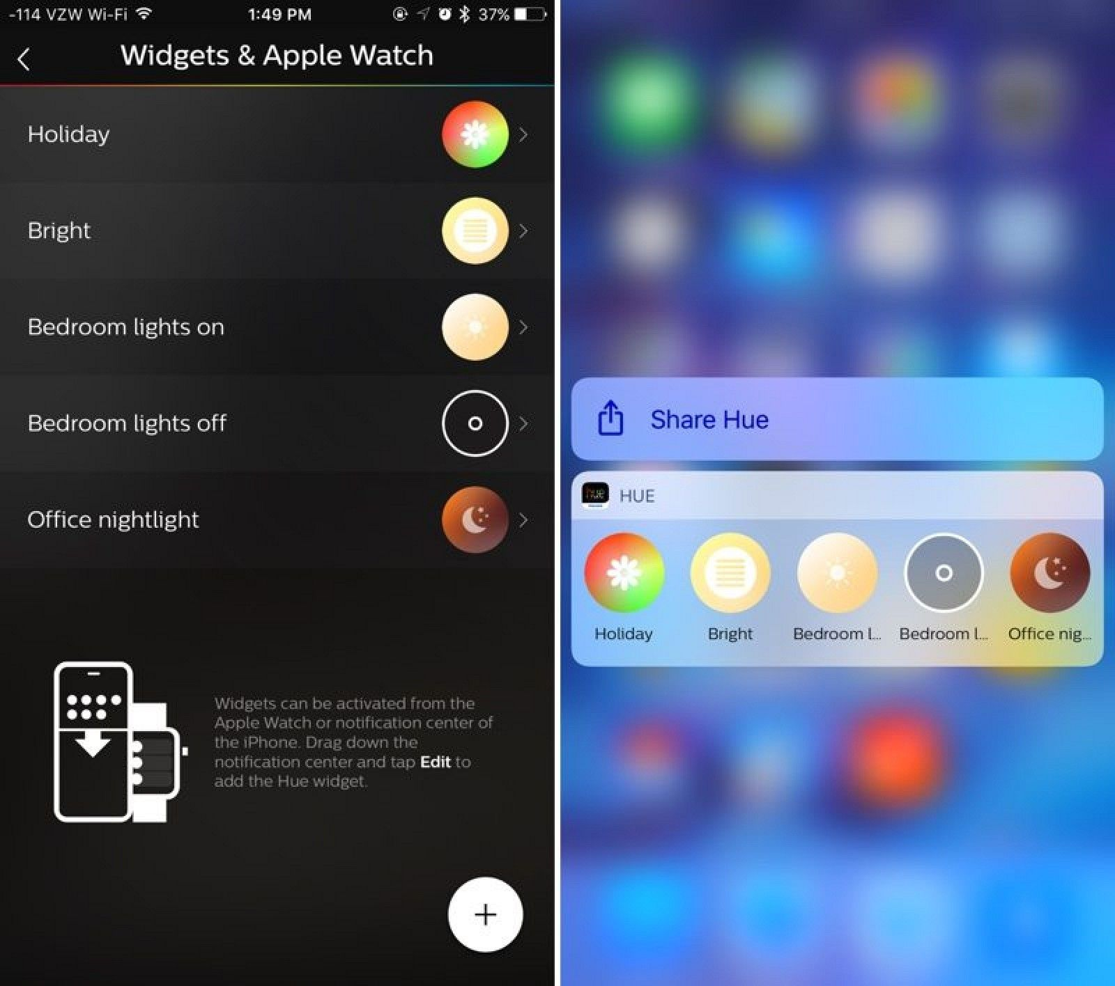 Philips Hue App Expands to iPad, Gains New 3D Touch